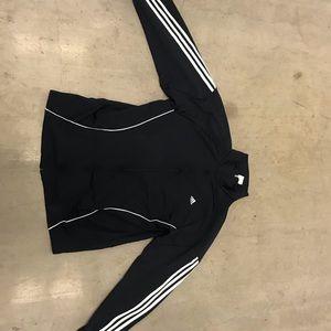 Adidas warm up zip jacket